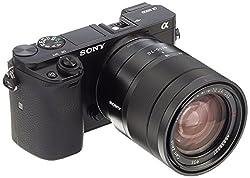 "Sony Alpha 6000 Systemkamera (24 Megapixel, 7,6 cm (3"") LCD-Display, Exmor APS-C Sensor, Full-HD, High Speed Hybrid AF) inkl. SEL-1670Z Objektiv schwarz"