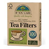 If You Care Fsc Certified Unbleached Tea Filters 100 Count, 1-Pack (100 Filters in Total)