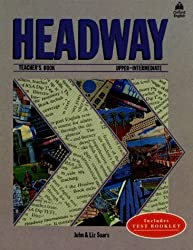 Headway: Teacher's Book (Including Tests) Upper-intermediate level by John Soars (1987-07-05)