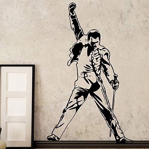 ury Queen Band Musik Rock Vinyl Aufkleber Tapete Für Raumdekoration Schlafzimmer Wohnzimmer Wanddekor 43X70CM ()