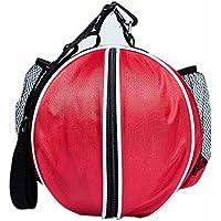 HNJZX - Bolsas de baloncesto portátiles para entrenamiento, fútbol, fútbol, voleibol, rojo