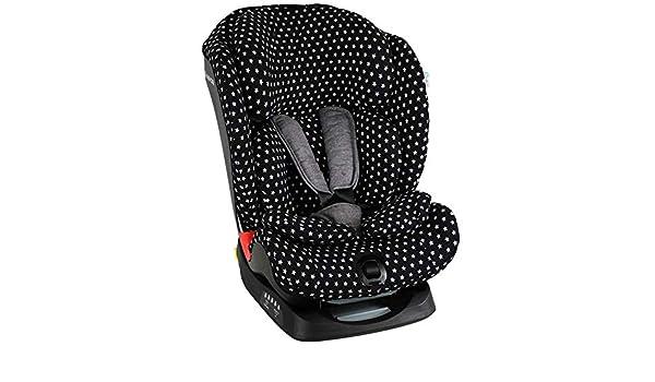 Bezug Maxi-Cosi Titan Kindersitz Schwarz Einfarbig Schwei/ßabsorbierend und weich f/ür Ihr Kind Sch/ützt vor Verschlei/ß und Abnutzung /Öko-Tex 100 Baumwolle