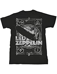 Led Zeppelin Shook Me Jimmy Page Rock oficial Camiseta para hombre