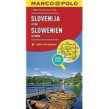 MARCO POLO Länderkarte Slowenien, Istrien 1:300 000 (MARCO POLO Länderkarten)