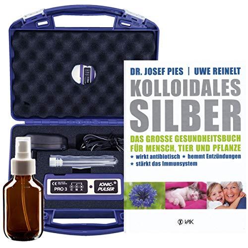 Ionic-Pulser® PRO Silber-Generator + Buch kolloidales Silber herstellen anwenden -