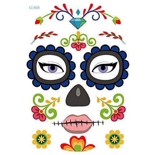 Kashyk Hot Stamping Tattoos, Fake Tattoo Sticker, Körperkunst, Umwelt, 15 Muster, Dekorieren von Körpern, Wasserdicht, Körper-Aufkleber, Körperkunst, Arm, Make-up-Party, Halloween