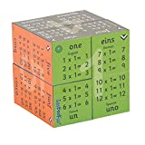 ZooBooKoo Einmaleinsreihen 1-12 Cubebook (Deutsch, EN, FR & ES)
