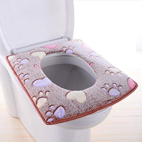 Gquan Wc pad Coussin carré toilettes, collante,...