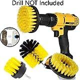 YYXA 3 Pezzi Drill Spazzola Potente Scrubber Spazzola di Pulizia Universale Drill Brush Kit di Pulizia Tempo di Pulizia Saving Kit per La Stuccatura di Piastrelle