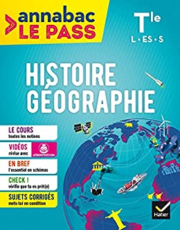Histoire-géo Tle L ES S : Pour réviser le bac en grand format (