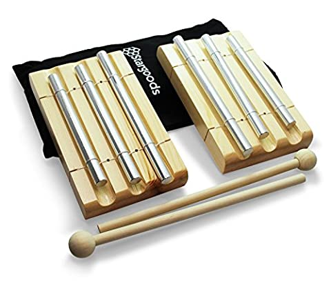 Stargoods Energy Chime 3 Tone with Wooden Percussion Hammer (Set of 2)