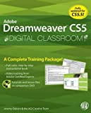 Adobe Dreamweaver CS5 Digital Classroom [With CDROM][ ADOBE DREAMWEAVER CS5 DIGITAL CLASSROOM [WITH CDROM] ] By Osborn, Jeremy ( Author )Jun-21-2010 Paperback