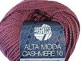 Lana Grossa Alta Moda Cashmere 16 027 Burgund 50g