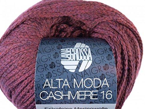 Lana Grossa Super Color 100g Farbe 112 rottöne taupe braun