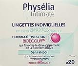 PHYSELIA - Physelia Lingettes Individuelles Hygiène Intime – Apaisent – Rafraichissent - Protègent - x 20 Lot de 2