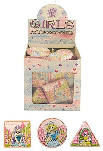 Mazes 6 6,5 cm, motivo: principesse disney, puzzle giocattolo per bambini, con astuccio, in confezione regalo, party bag fillers