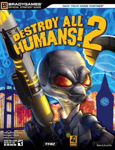 Destroy All Humans! 2 Official Strategy Guide