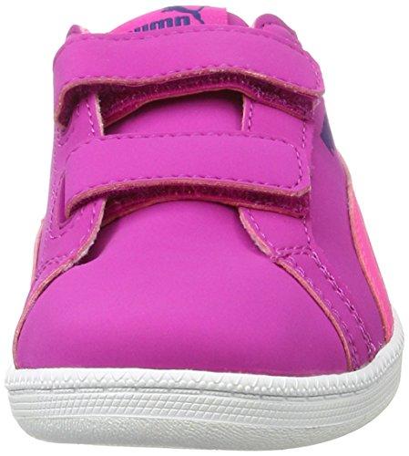 Puma Unisex-Kinder Smash Fun Buck V Ps Low-Top Pink (ultra magenta-knockout pink 09)