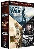 Coffret guerre 3 films : rescue under fire ; memories of war ; du sang et des larmes