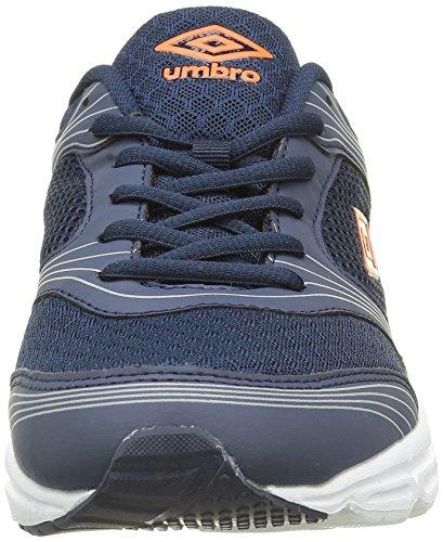 Umbro Um Bexley, Scarpe da Ginnastica Basse Uomo Grigio (Gris Bleu/Orange 123)