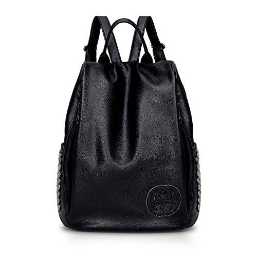 Valin S787 femme Sacs portés dos,33x34x17(BxHxT) Noir