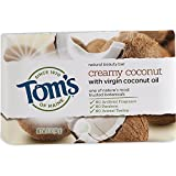 2 Pack - Tom's of Maine Natural Beauty Bar Soap with Virgin Coconut Oil 5 oz