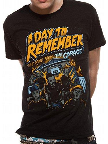 A Day To Remember sono venuti dal garage T-shirt (Nero) Black L