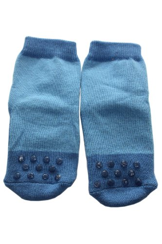 Weri Spezials ABS Pantoufle Chaussons Chaussettes Antiderapants 3-6 Mois (15-16) Bleu Bleu