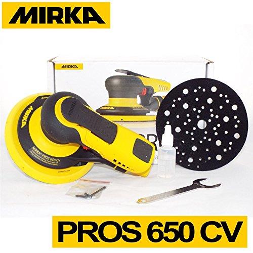 Mirka 8995650111 - Ponceuse pneumatique - orbitale - Pros 650CV