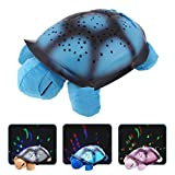 #4: divinext Romantic Loving Lights / Constellation Night Light, Turtle Night Sky Star Projector Table Lamp for Kid / Romantic Couples / Turtle Designed Night Lamp Decoration