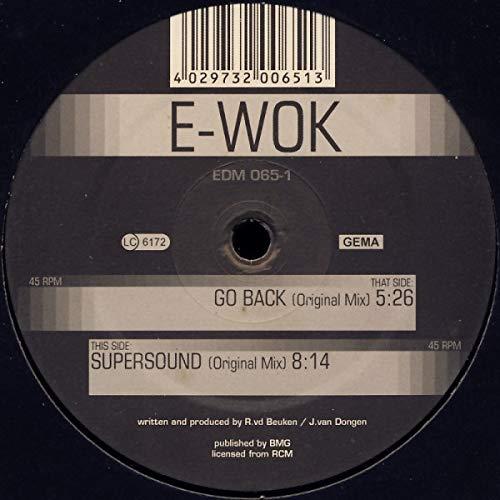 Supersound/Go Back [Vinyl Maxi-Single] (Wok-12 In)