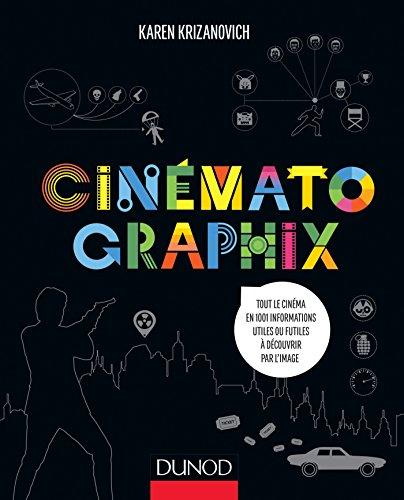 Cinématographix - Tout le cinéma en 1001 informations utiles ou futiles à découvrir par l'image: Tout le cinéma en 1001 informations utiles ou futiles à découvrir par l'image