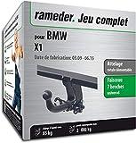 Rameder Attelage rotule démontable pour BMW X1 + Faisceau 7 Broches (128727-08277-1-FR)
