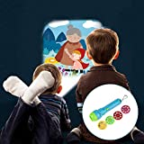 Proyector para niños, Starter Story Proyector para linterna Baby Flashlight Toys, 4 temas para 32 imágenes, Baby Bedtime Story Toys