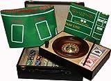 Großes Roulette/ Poker Set mit stylishem Koffer (35 X 25,5 X 12,5cm)