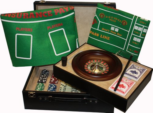 roulette poker set analog games brettspiele kartenspiele w rfelspiele. Black Bedroom Furniture Sets. Home Design Ideas