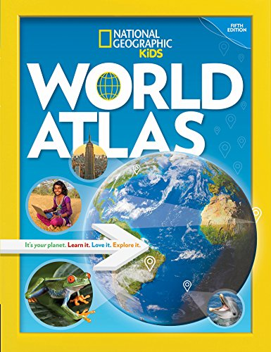 National Geographic Kids World Atlas, 5th Edition por National Geographic Kids