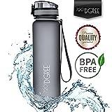 Trinkflasche uberBottle - Wasserflasche aus Tritan 350ml, 500ml, 650ml, 1l, 1,5 Liter | Neuartige Flasche | Water Bottle