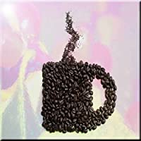 Rikki Knight chicchi di caffè Tazza design art Piastrelle di ceramica, da 44