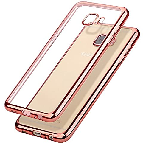 Samsung Galaxy A5 2016 Hülle ,Schutzhülle,Yica Silikon Hülle Case Clear TPU Transparent Schutzhülle Hülle für Galaxy A5 2016 Case Cover