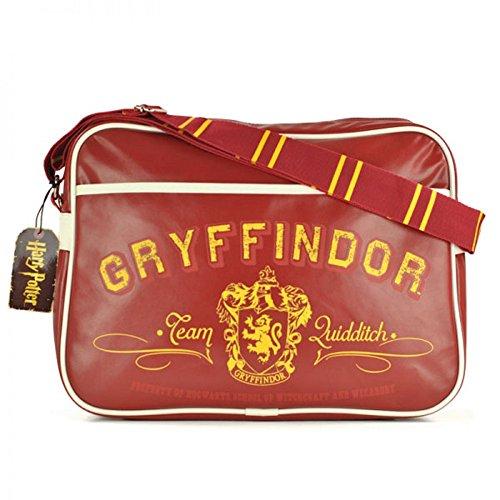 Harry Potter - Schultertasche - Messenger Tasche - Gryffindor Wappen - Logo