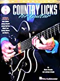 Country Licks For Guitar Tab Book/Cd