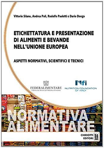 Etichettatura e presentazione di alimenti e bevande nell'unione Europea