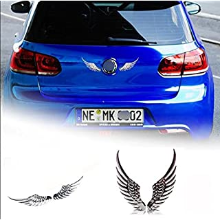 B245 ein Paar Engel flügel Emblem Badge auto aufkleber 3D car Sticker Abziehbild