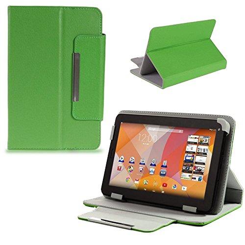 Schutz Tasche f Medion Lifetab S7322 Junior Tablet Hülle Schutzhülle Cover Case , Farben:Grün