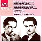 Schumann : Concerto pour piano en la mineur op.54 / Mozart : Concerto pour piano n°21 en ut majeur K 467