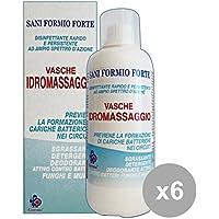 Set 6 GERMOCID SANI FORMIO Disinfettante VASCHE IdroMassaggio 500 Ml. Disinfettanti e igienizzanti
