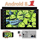 Android 8.1 Oreo Quad-Core-7inch Stereos System in Dash Head Unit GPS Navigation Autoradio Bluetooth No-DVD-Player Auto-Unterst¡§1tzung WiFi / 4G / OBD/Telefon Mirroring/USB / FM/AM / RDS Autor