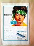 1969 : Anzeige: THOMAPYRIN - Format: ca. 140 x 200 mm - alte Werbung /Originalwerbung/ Printwerbung /Anzeigenwerbung