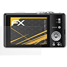Panasonic Lumix DMC-TZ22 Displayschutzfolie - 3 x atFoliX FX-Antireflex blendfreie Folie Schutzfolie